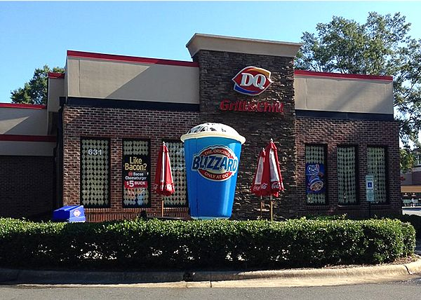 Triangle Dairy Queen