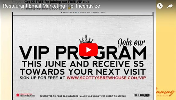 email incentives