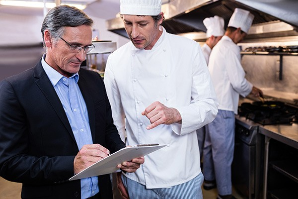 manager with chef